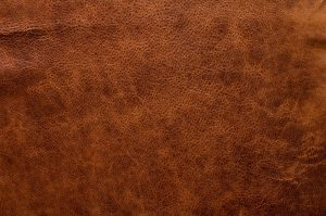 Example of aniline leather